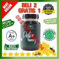 Organibee Detox Honey Asli Obat Diet Madu Pelangsing Badan Alami