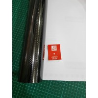 Stiker - Sticker Karbon 5D - Skotlet Maxdecal Carbon 5D - Black Glossy