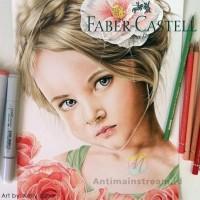 Faber Castell Polychromos Skin Tone 6 Warna Pensil Warna Original