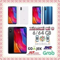 XIAOMI MI 8 6/64 GB - RAM 6GB - INTERNAL 64GB - MI8 - HITAM