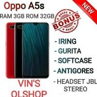 HP OPPO A5S 3/32 RESMI - MERAH