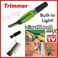 micro touch max as seen tv trimmer alat cukur inovatif