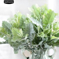 Westcovina 1Pc Artificial Dusty Miller Green Bridal