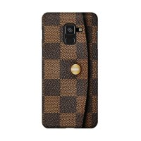 Hard Case Casing LV Wallet Cover for Samsung Galaxy A8 Plus