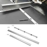 Slot Rel Track Desain T Panjang 400/600mm Bahan Aluminium untuk Meja