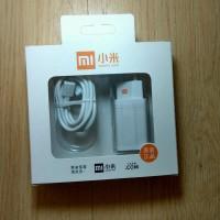 Travel charger xioami 2.0A Fast charging Plus kabel data merk VOOC