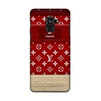 Hard Case Casing Supreme Lv Wood for Samsung Galaxy A6 2018