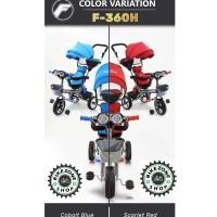 Sepeda Stroller Roda Tiga anak balita Family F 360 H