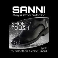 SANNI LEATHER SHOE CARE CLEANER POLISH / CAIRAN PEMBERSIH SEPATU KULIT