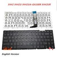 Keyboard Laptop Asus A442 A442UF A442UQ A442UR X442 X442UA
