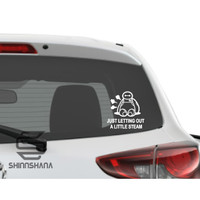 Sticker Mobil Motor Baymax Big Hero 6 Accesories Decal Vinyl
