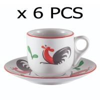 Cangkir Kopitiam/Cangkir Keramik/Cangkir Ayam Jago/Coffee Cup