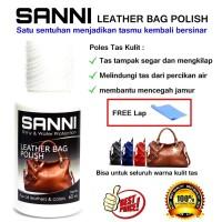 SANNI LEATHER BAG CARE POLISH CLEANER / CAIRAN PEMBERSIH TAS KULIT