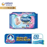 Mamypoko Baby Care Wipes NON FRAGRANCE 52 Lembar