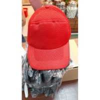 Topi Double Mash Custom Bordir - Putih