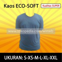 Kaos Polos Eco-Soft 30s Super (Eco-Soft 30s T-Shirt Built-up)