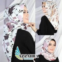 Jilbab Segitiga Instan Motif