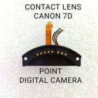 flex pin conector lensa Canon 7D contact lens