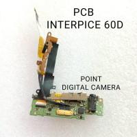 PCB Interpice USB HDMI canon 60D