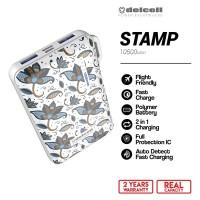 Delcell 10500mAh Powerbank STAMP Batik Edition Real Capacity