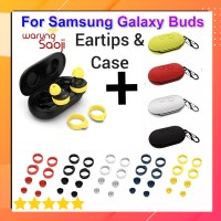 Casing Samsung Galaxy Buds buds+ Plus Silicone Case & eartips earbuds