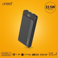 UNEED QuickBox 108 Powerbank 10000mAh VOOC 3.0, QC 3.0,PD 3.0, Samsung