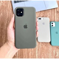 Premium Silicone Case Iphone XR Softcase Full Cover Polos Casing