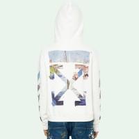 ⭕️Off White SS19 Colored Arrow Zip Hoodie- Off White 100% Original
