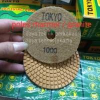 polishing pad #1000 - diamond pad poles marmer - pad poles granite