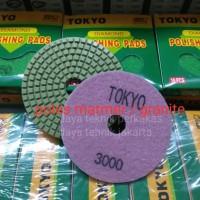 polishing pad #3000 - diamond pad poles marmer - pad poles granite