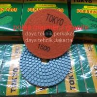 polishing pad #1500 - diamond pad poles marmer - pad poles granite