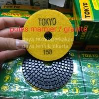 polishing pad #150 toky - diamond pad poles marmer - pad poles granite