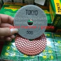 polishing pad #500 - diamond pad poles marmer - pad poles granite