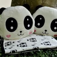 Balmut Bantal Selimut Lovely Panda