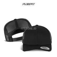 Topi Polos Jaring/Trucker Baseball Flexfit Yupoong 6606 Original