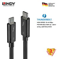 LINDY #41558 Thunderbolt 3 Cable,passive 0,8m