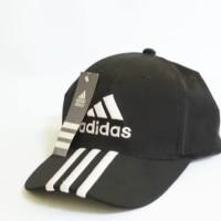 Topi baseball adidas hitam