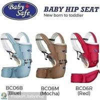 Baby Safe Hip Seat Carrier Newboarn/Gendongan Bayi Multifungsi BC06