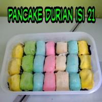 Pancake Durian Medan Isi 21 Rainbow
