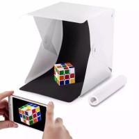 Studio Box M818 Mini Kotak Tempat Foto Dengan Lampu LED