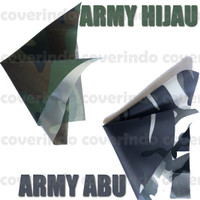 30.000 PER METER - READY kain parasit MOTIF ARMY - KUALITAS BAGUS!! - Army Hijau