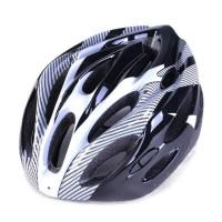 Helm Sepeda Keren EPS Foam PVC Shell - x10 Variasi Warna - Abu-abu