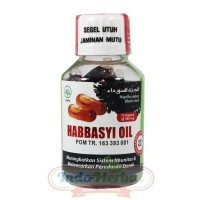 Minyak Habbatussauda Habbasyi Oil HNU Niaga Utama Habbasy 75 kapsul