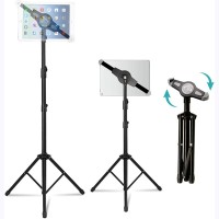 AkTop Portable Light Stand Tripod Tablet Partitur Stand - JY1018