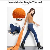 Celana Jeans Musim Dingin / Long John Thermal Leggings 07