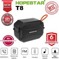 Hopestar T8 Premium Wireless Portable Bluetooth Speaker Resmi Original