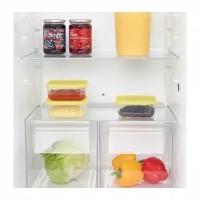Kotak sayur daging freezer kulkas bening kuning