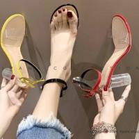 Sepatu High Heels kaca AUTUM 7cm