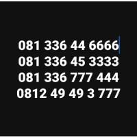 Nomor Cantik Simpati Loop Batik 081 Kuarted Double Triple