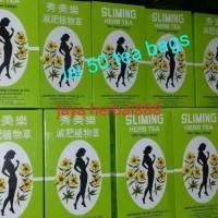Slimming herb thai tea pelangsing alami isi 50 teabags
